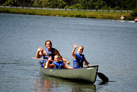 Canoe with your counselors
